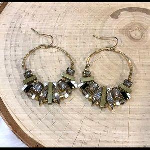 Fun Anthropologie statement earrings